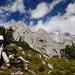 Gipfel der Hüttenspitze