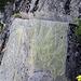 Der aufgeschnittene Fels an der Oberschta