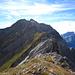 Der Grat von Rossfallenspitz Richtung Calanda