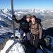 Rimpfischhorn-Gipfel