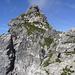 ausgesetzter Abstieg vom Gratturm (ungesichert)