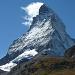 Stolz präsentiert sich das Matterhorn