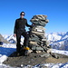 Cyrill on top of Faltschonhorn 3022m