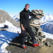 Dominik on top of Faltschonhorn 3022m