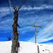 Gipfelkreuz Bleikenchopf, 1681m