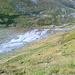 Abstieg über Las Blais nach Plaun Vadret: rechts die Alp 2070 (MTB-Depot)