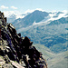 Im Aufstieg zur Hintergraslspitze hinten die Ramolkogel