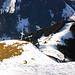 Das Gipfelkreuz auf der Schafmatt 1979m