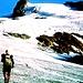 Rudi u. Karl auf dem Vernagtferner, Aufstieg zur Hochvernagtspitze