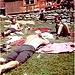 Karri, Karl u. Rudi beim Entspannen vor der Vernagthütte <br />c Margarete