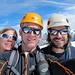 wir drei auf dem Gipfel des Tschingelhorns