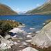 Wenn die Strommasten nicht wären könnte man meinen man ist in einem endlosen Norwegischem Fjord - Lai da Sontga Maria II