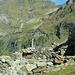 die Trümmer der hoch gelegenen Alpe Rotondo