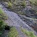 Die steilen Schuttrinnen sind nicht harmlos