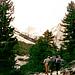 Im Valle de Gardeccia, Karl u.Monika,Aufstieg zum Kesselkogel