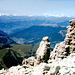 Zillertaler Alpen u. Grödnertal vom Piz Selva