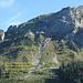 Routenübersicht für den Aufstieg auf den Bärenstock.