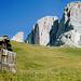 Grohmannspitze auf dem Rückweg vom Plattkofel