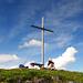 Grosses Kreuz für einen kleinen Berg