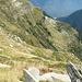 Da hinunter zur Alpe Neghèisc