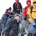 Gipfelglück auf dem Nadelhorn... sau kalt hier oben!