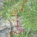 Ungefährer Routenverlauf Stüell - Negrös - Pön