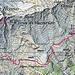 Ungefährer Routenverlauf Stüell-Poncione Rosso retour