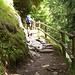 Auf dem Meraner Höhenweg zwischen Leiteralm und Hochganghütte