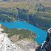 Dalla cima il Lago di Devero
