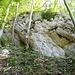Eine andere Felspartie am oberen Südsporn.