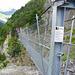 Die zweite Hängebrücke (95 Meter)
