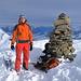 Auf dem Gipfel des Winterhore 2609m