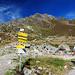 Schöntalspitze rechts oben am Bildrand, links die Grubenwand