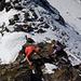 Leichte Kletterei zur Zischgenscharte