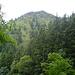 Blick auf die steile Flanke des Älpelekopfs