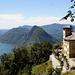 Blick vom Monte Brè zum San Salvatore
