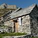Capanna Alpe Spluga, stabile dormitorio