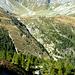 Il sentiero dall' Alpe di Pozzo all' Alpe Quarnei