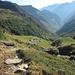 Salendo verso la bocchetta Bassa: Rifugio Alpe Fumegna e Val Pincascia