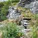 Valle di Bri - Steintreppe