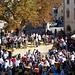 Volksfest auf dem Stadtplatz von Glurns