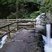 Der Bergwaal bezieht zusätzliches Wasser aus einem Seitenbach