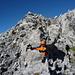 Beim Abstieg im Felsgewirr des Ruchen