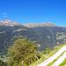 Von der Strasse nach Ayer aus hat man eine schöne Sicht auf den Grat von Crêt du Midi zum Roc d'Orzival. Dieses Projekt steht auch noch auf dem Programm. [u Nadirazur] hat diese Gratwanderung [http://www.hikr.org/tour/post15544.html hier] beschrieben