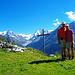 Gruppenbild bei Barneuza Alpage
