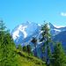 Im Abstieg zur Hütte von Lirec hat man immer noch hervorragende Ausblicke mit schönem Vordergrund!