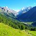 Im steilen Abstieg von Lirec nach Zinal