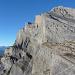 Die Südostwand des Daubenhorns von der Gemmi aus gesehen.