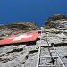 Die 'Schweizerfahne' ist von Leukerbad gut zu sehen.