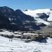Auf dem Daubenhorngletscher mit Blick zum Wildstrubel und dessen Gletscher